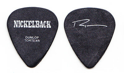 Nickelback Ryan Peake Signature Black Guitar Pick - 2003 Tour