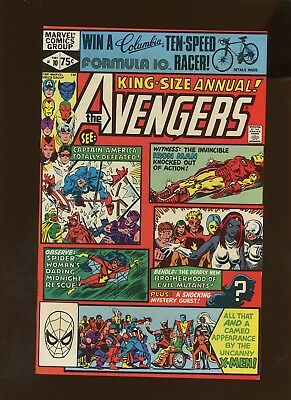 Avengers Annual 10 NM 9.2 * 1 Book Lot * 1st Rouge & Madalyn Prior! Claremont!