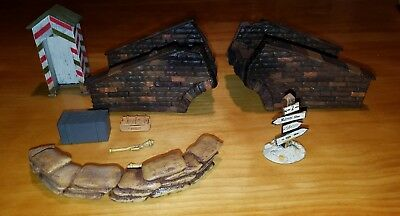 Ultimate Soldier/Forces Of Valor And Others Accessory Lot With Bridge, 1/32.
