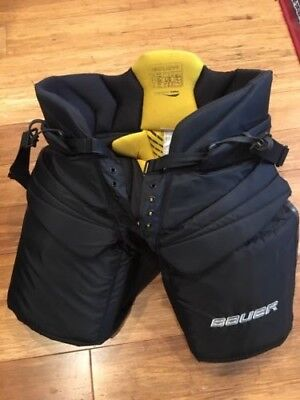 Bauer hockey goalie pants, Senior Large, One.9 Supreme