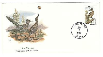 USA cover 1985 Birds of the 50 States New Mexico Bird stamps USA stamps