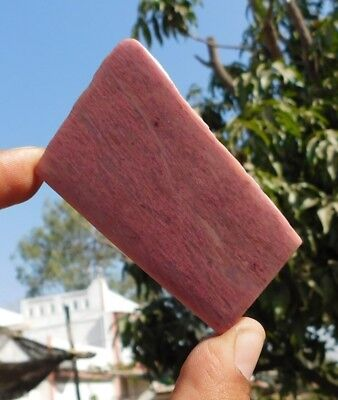 172 Cts A++ Stunning Pink Calcite 68X40X5Mm 100% Natural Cab Slab Gemstone