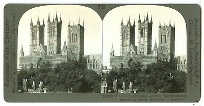 1 of 4 England, 28189-Lincoln Cathedral, Lincoln, Architecturally The Finest...