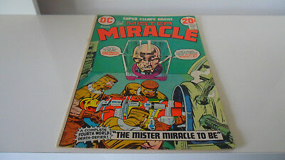 Mister Miracle # 10 1972 DC Bronze Age Comic Jack Kirby Art Low Grade