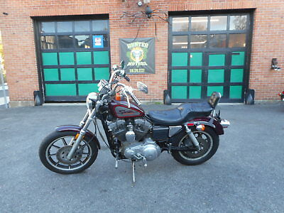 1989 Harley-Davidson Sportster  1989 HARLEY DAVIDSON XL1200  FACTORY PAINT 23,846 MILES , 4 SPEED CHAIN DRIVE