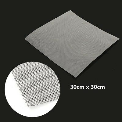 "12""x12"" 304 Stainless Steel 30 Mesh Cloth Screen Filter Square Sheet Woven Wire"