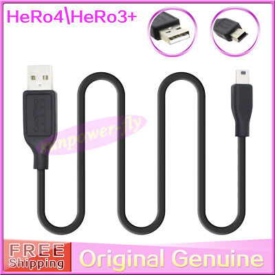 Original genuine USB Charger Charging Cable Cord for GoPro HERO4 HERO 3+ Camera