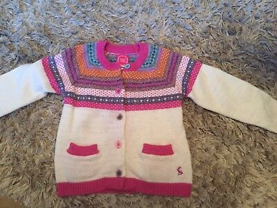 Girls Joules Cardigan Age 6 Years