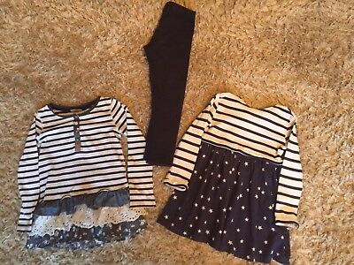 Girls Next Long Sleeved Tunics And Legging Outfit 5-6 Years
