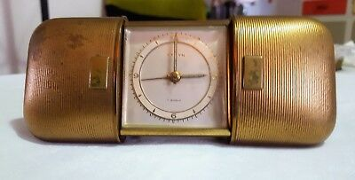 Vintage Rare Cyryn Windup Travel Alarm Clock . Made in Germany