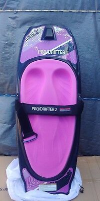 kneeboard CSS prodrifter  2 pink  just arrived with cover