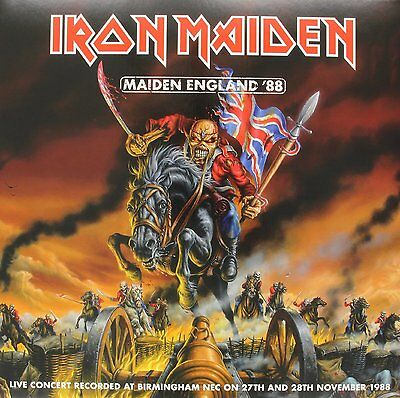 IRON MAIDEN Maiden England '88 LIMITED 2 x PICTURE DISC Vinyl LP NEW & SEALED
