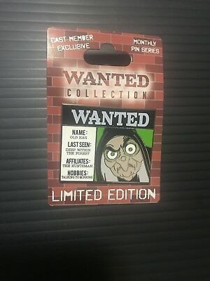 Disney Most Wanted Collection Old Hag Cast Exclusive Pin