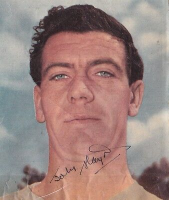 Signed Johnny Haynes 1934-2005 Fulham Durban England 1958 1962 World Cup 1950s +