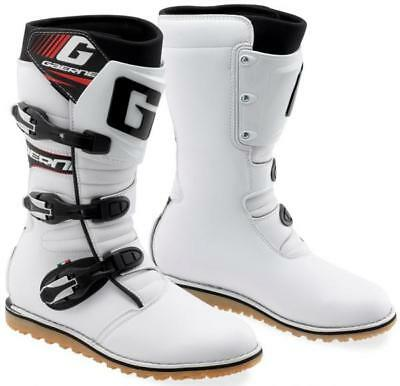Gaerne Classic Trials Boots White Off Road