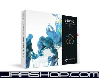 iZotope Music Production Suite 2 Upgrade from Any Advanced Product eDelivery JRR