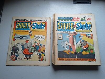 Shiver And Shake Comics 18 Issues From 1973  17/3 To 21/4  5/5 To 7/7  24/11  29