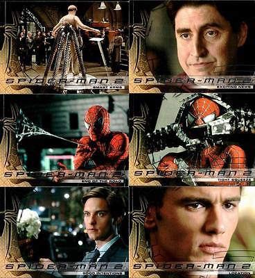 Spider-Man 2 Movie Trading Card Set