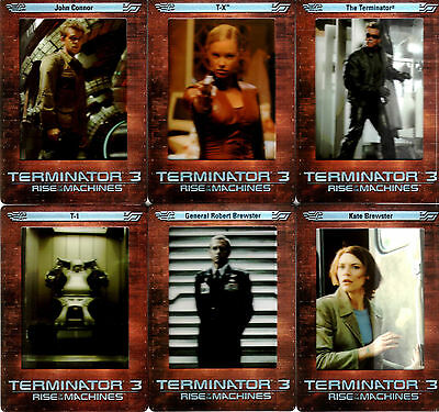 Terminator 3 Movie FilmCardz Trading Card Set