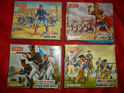 Vintage Collectable Airfix Model Toy Soldiers Boxed Job Lot American French Etc