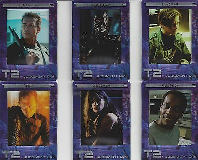 Terminator 2 Movie FilmCardz Trading Card Set