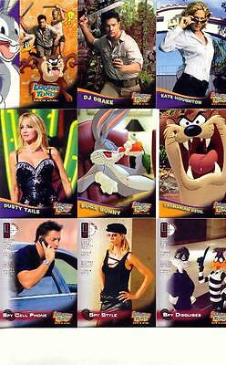 Looney Tunes Back In Action Movie Trading Card Set