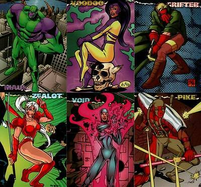 Jim Lee's Animated WILDCATS Trading Card Set