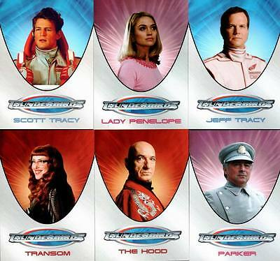 Thunderbirds Movie Trading Card Set