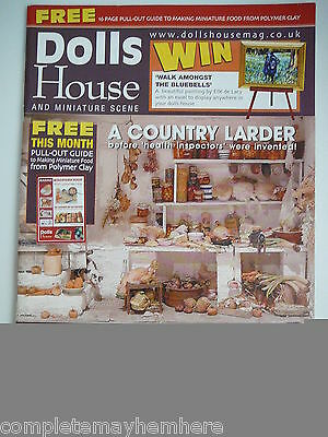 Dolls House and Miniature Scene Issue No 128 February 2005 - A Country Larder