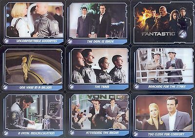 Fantastic Four Movie Celz (+Bonus) Trading Card Set