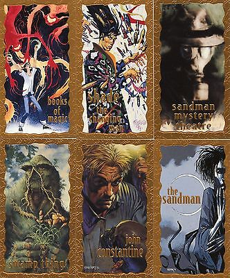 DC Vertigo Gold Foil Trading Card Set