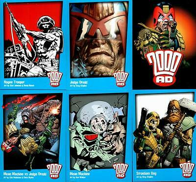 30 Years Of 2000 AD (Judge Dredd) Trading Card Set