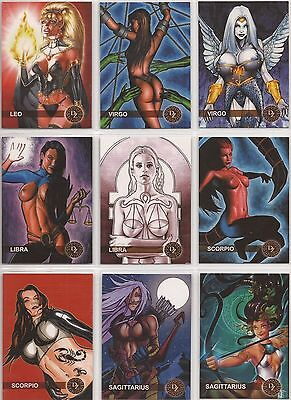 Dark Zodiac Fantasy Trading Card Set