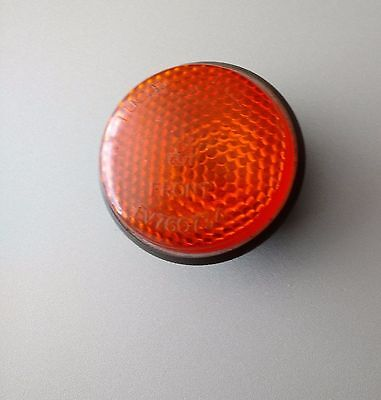 land rover lightweight indicator lens. ex MOD air-portable series 3, year 1980