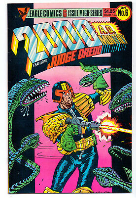 2000 Ad Monthly   #6   Fn / Vfn+   1986   Eagle United Kngdom Comic