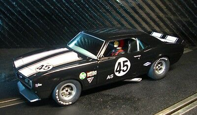Pioneer Slot Car New Unboxed 1968 Chevy Camaro Z-28 Club Sport Paint Defect