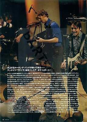 Arcade Fire - Clippings From Japanese Magazine Rockin'on 2007 - 2011