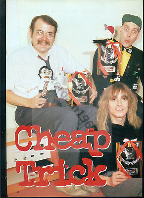 Cheap Trick - Clippings From Japan Magazine Music Life November 1996