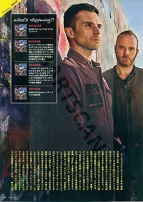 Coldplay / Chris Martin - Clippings From Japanese Magazine Rockin'on 2014 - 2015