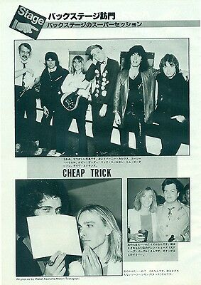 Cheap Trick - Clippings From Japanese Magazine Music Life 1982 - 1983