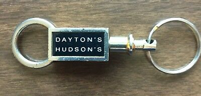Vintage Dayton's Hudson's Marshall Fields Keychain Advertising