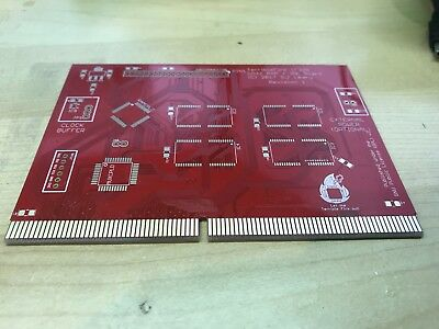 Amiga CD32 TerribleFire 328 RAM+IDE Gold PCB only rev 1  with TF logo! TF328