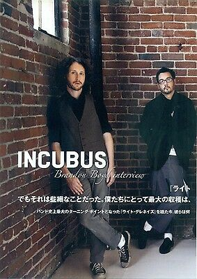 Incubus - Clippings From Japanese Magazine Rockin'on 2008 / 2011