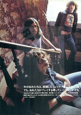 Kings Of Leon - Clippings From Japanese Magazine Rockin'on 2003