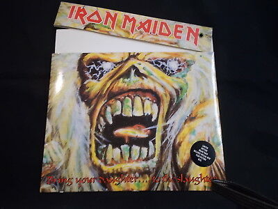 Iron Maiden - Bring Your Daughter To The Slaughter! 1990 'brain Pack' Pic Disc!