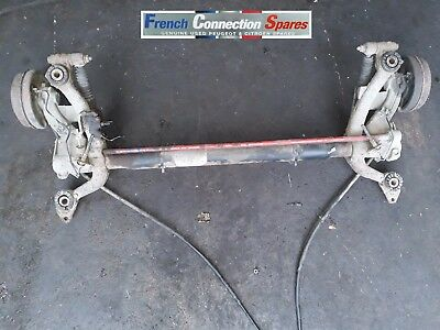 Peugeot 206 Hatchback Rear Axle Drum Brakes With No Abs