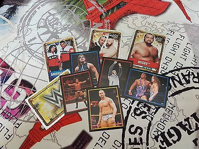 Topps WWE The ULTIMATE Collection Stickers any 10 for £2.00