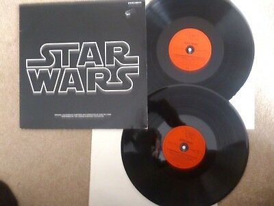 Star Wars - Double Disc Lp .