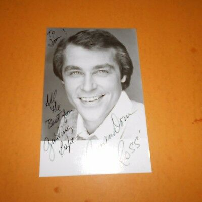 Jerry verDorn is an American soap opera actor, Hand Signed Photo