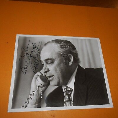 Robert S Strauss was a figure in American politics Hand Signed Photo